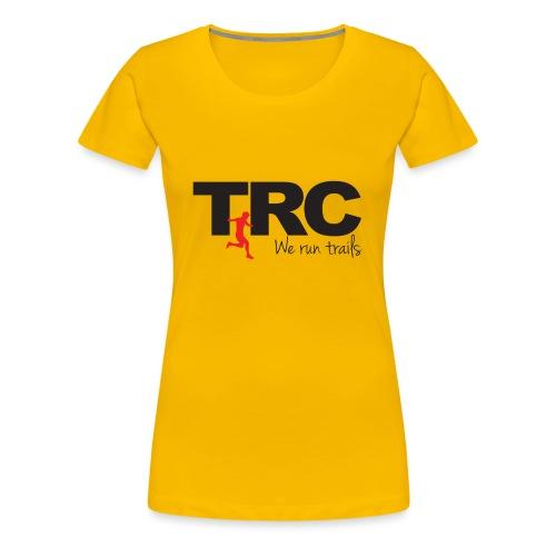Trailman Running Club Cotton Shirts - Dame premium T-shirt