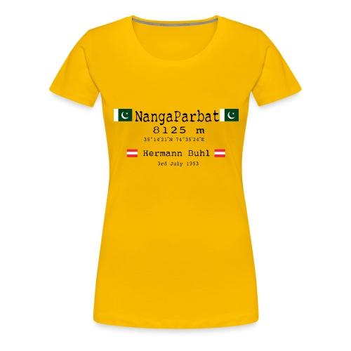 NangaPArbat20-01Black - Maglietta Premium da donna