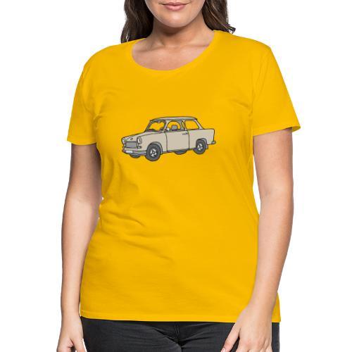 Trabi, Trabant (papirus) - Koszulka damska Premium