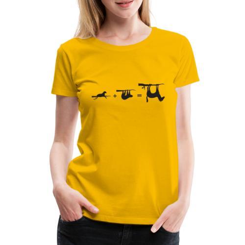 Lui paard Formule Luipaar - Vrouwen Premium T-shirt