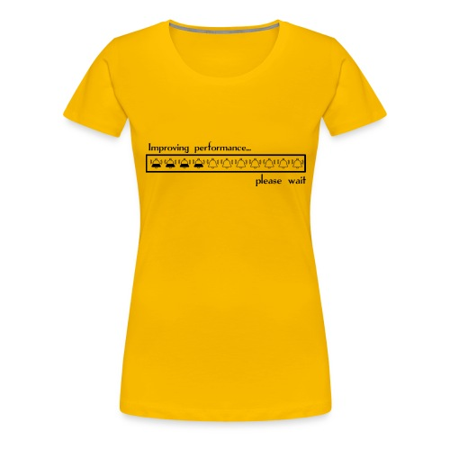 Improving performance - Camiseta premium mujer