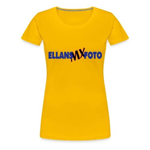 ELLANS2 - Premium-T-shirt dam