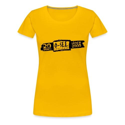 O-SEE Challenge 2020 schwarz - Frauen Premium T-Shirt