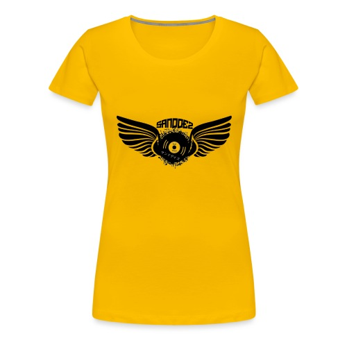 dj sanddez - Camiseta premium mujer