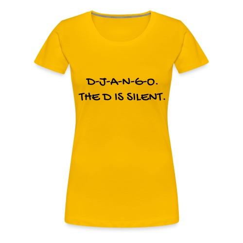 Cinema - Quotes - Film - Citations - Zitat - Humor - Women's Premium T-Shirt