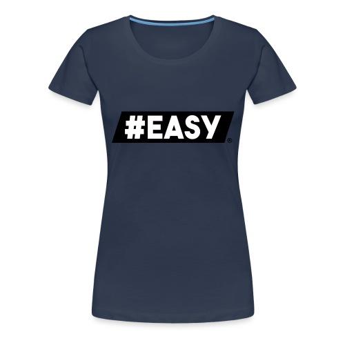 #EASY Classic Logo T-Shirt - Maglietta Premium da donna