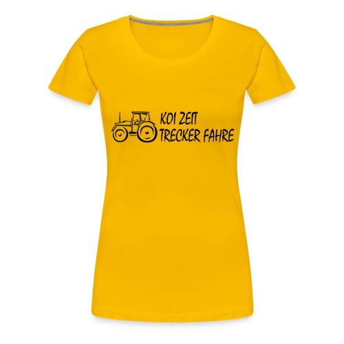 KoiZeit - Trecker - Frauen Premium T-Shirt