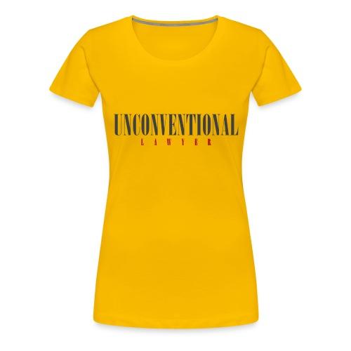 Unconventional Lawyer - T-shirt per avvocati (men) - Women's Premium T-Shirt