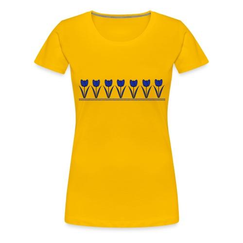 tulpen - Vrouwen Premium T-shirt