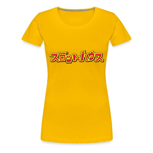 Slot House Japanese - Women's Premium T-Shirt