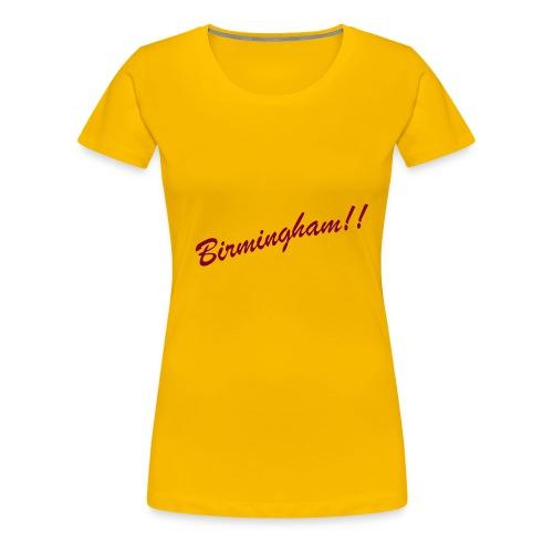 BIRMINGHAM - Women's Premium T-Shirt