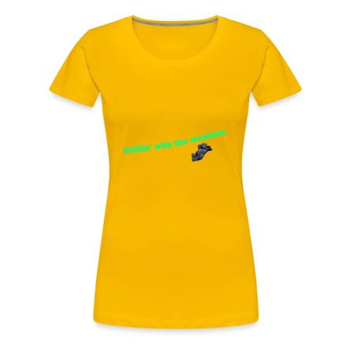 chillin' - Women's Premium T-Shirt