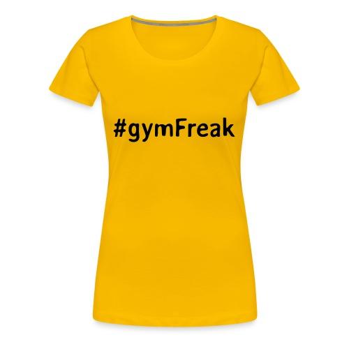gymFreak Shirt - Frauen Premium T-Shirt