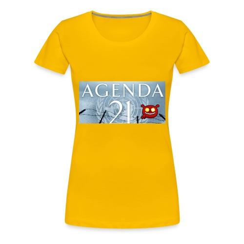Agenda 21.bad - Women's Premium T-Shirt