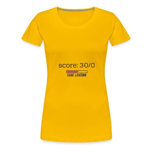 rage - T-shirt Premium Femme