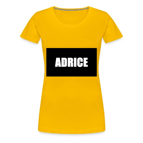 Adrice - Premium-T-shirt dam