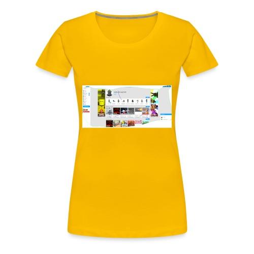 my robox channle - Women's Premium T-Shirt