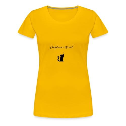 Delphine s World - T-shirt Premium Femme