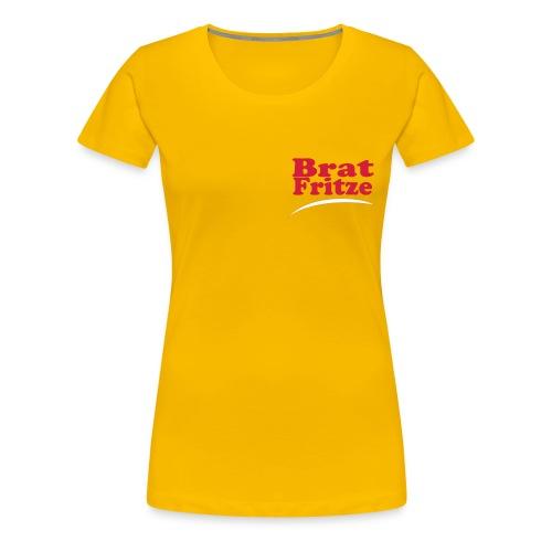 bratfritze1 - Frauen Premium T-Shirt