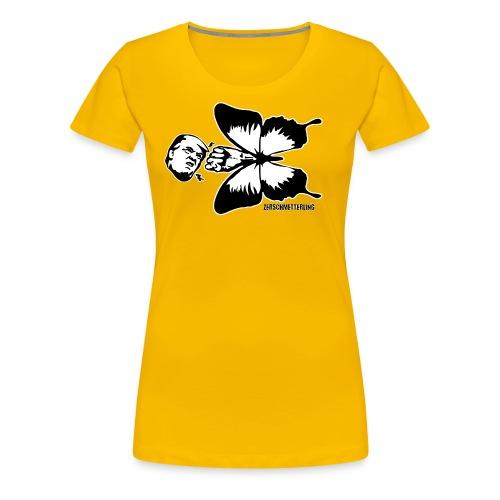 Zerschmetterling gegen Trump - Frauen Premium T-Shirt