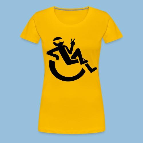 Happyweelchair1 - Vrouwen Premium T-shirt