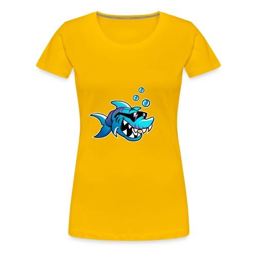 Cool Shark - Women's Premium T-Shirt