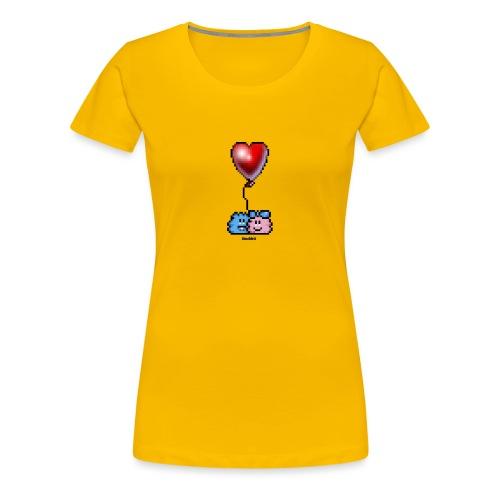 Heart Balloon - Frauen Premium T-Shirt