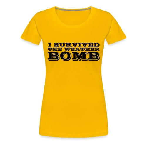Weather Bomb - Women's Premium T-Shirt