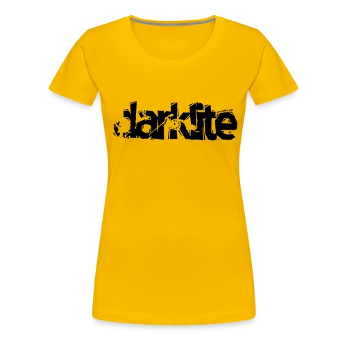 darklite logo black - Women's Premium T-Shirt
