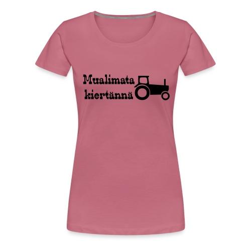 mualimata - Naisten premium t-paita
