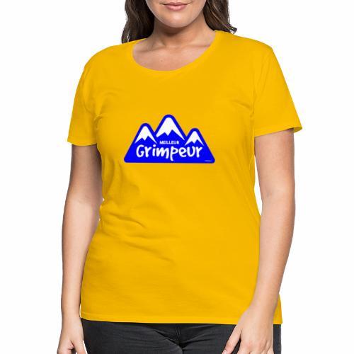Klimmer - Vrouwen Premium T-shirt