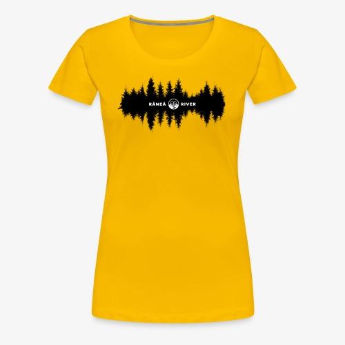 Råneå River reflections - Premium-T-shirt dam