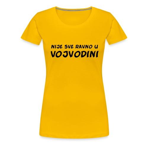 ravno vojvodini - Women's Premium T-Shirt