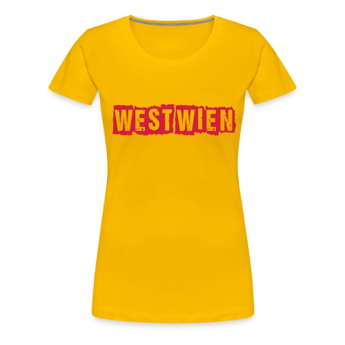 westwienpunkrockstyle - Frauen Premium T-Shirt
