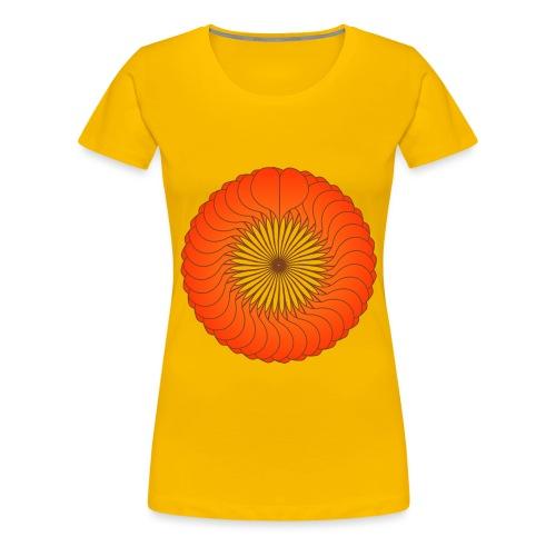 ronde de coeurs - T-shirt Premium Femme