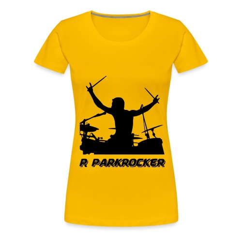 prshirtlogodrummer - Frauen Premium T-Shirt