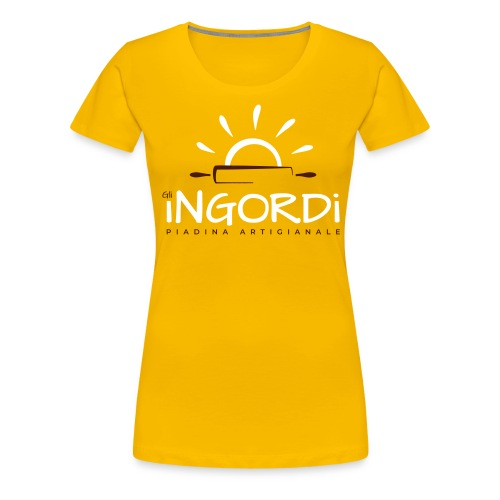 Gli Ingordi - Maglietta Premium da donna