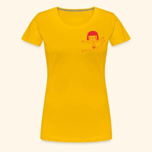 logo happy - T-shirt Premium Femme