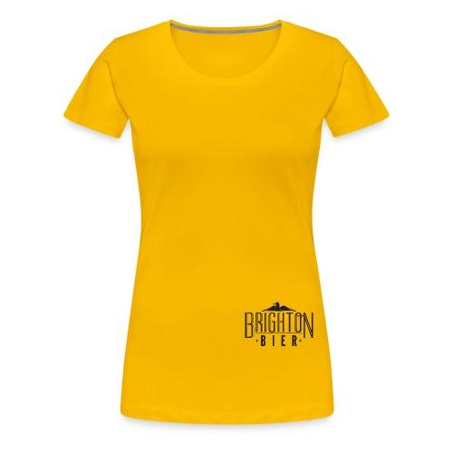 brighton bier logo black - Women's Premium T-Shirt