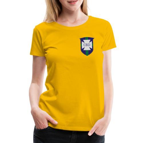Mondiali di calcio 1970 celebrativa Brasile - Maglietta Premium da donna
