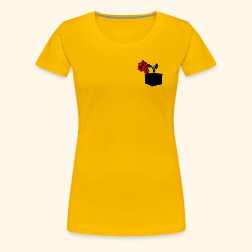 rose cube - T-shirt Premium Femme