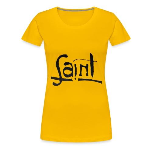 Saint/Thief Anagrama - Camiseta premium mujer