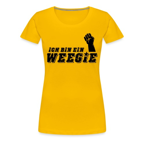 Ich Bin Ein Weegie - Women's Premium T-Shirt