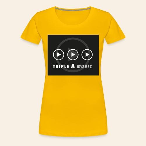 Triple A Music - Vrouwen Premium T-shirt