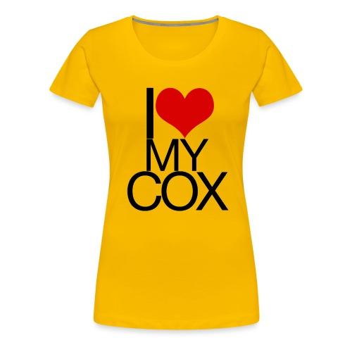 I Love My Cox - Women's Premium T-Shirt