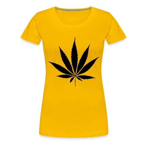 Weedblatt - Women's Premium T-Shirt