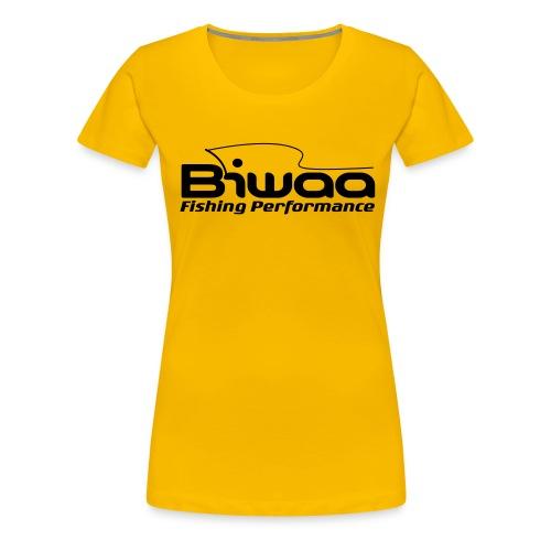 logo biwaa noir sans fond - T-shirt Premium Femme
