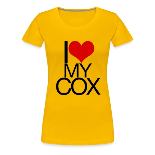 I Love My Cox - Women's Premium T-Shirt
