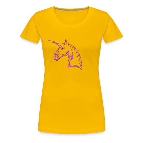 licorne tribal - T-shirt Premium Femme
