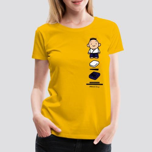 Aikido-goederen - Vrouwen Premium T-shirt
